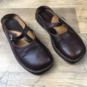 Born slip on Mary Jane Leather Shoes